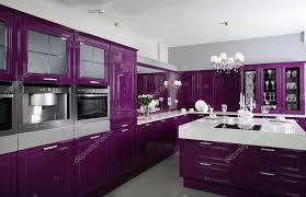 küche lila lila küche mit stilmöbeln stockfoto 36624053