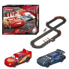 disney cars 3 cup duel carrera go 4 3m track lightning mcqueen vs