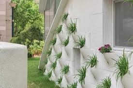 exterior wall design house with plant pot on its exterior wall u2013 design swan
