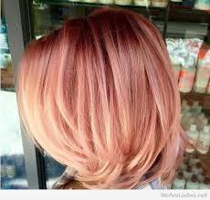 rose gold hair color gold hair color