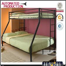 popular double decker metal bed frame used bunk bed