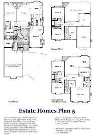 5 bedroom house plans with bonus room manhattan estate home plan 4 floorplan