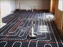 cost and installation of radiant floor heating systems in