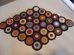 already pre cut penny rug kit you make yourself