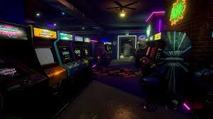 new retro arcade neon pc vr review chalgyr u0027s game room