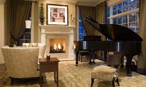 traditional livingroom 15 grand piano set ups in traditional living rooms home design lover