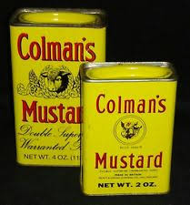 colemans mustard vintage colman s mustard tin 4oz made in britain of product