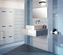 tile bathroom designs bathroom tile design the color of the sea and floating sink for