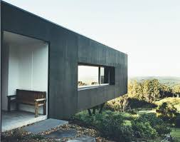 Home Decor Websites Australia Cantilevered Solar Home Overlooks Breathtaking Views On