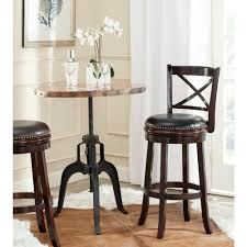 Linon Home Decor Bar Stools by Linon Home Decor Maya 29 In Brown Cushioned Bar Stool 98353brn 01