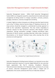 subscriber management system insight towards the right by