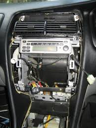 today guess what i replaced the stock clarion head unit in