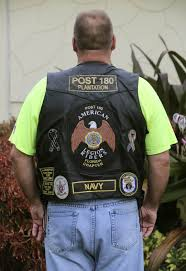 motorcycle jacket vest vet asked to remove biker jacket at restaurant sparks outrage on