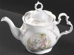 beatrix potter tea set royal albert world of beatrix potter at replacements ltd