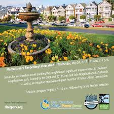 Family Garden Sf Alamo Square Opening Soon San Francisco Recreation And Park
