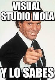 Studio Memes - visual studio mola julio iglesias meme on memegen