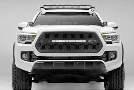 Black Led Light Bar by 1pc Zroadz Series Black Grille W Led Light Bar T Rex Fit 2016 2017