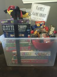 family silent auction basket fundraising ideas