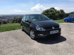 old blue volkswagen black vw polo 1 2l tsi engine petrol 5 door 2 years old excellent