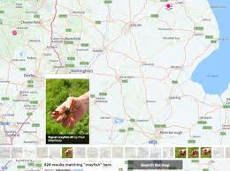 Berkshire England Map by How To Catch Signal Crayfish In The Uk