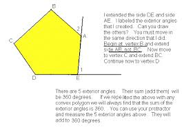What Is Interior And Exterior Angles Math In A Box Geometry Review Lessons By Susan O Johnsey