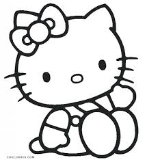 coloring pages coloring pictures kitty coloring pages