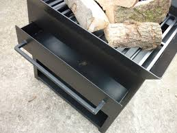 Ebay Firepit Steel 56cm High Garden Fireplace Firepit Patio Heater Log Burner
