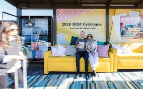 ikea 2018 catalogue launch campaign adshel
