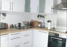 cuisine en blanc cuisine blanche et bois inspirational cuisine bois blanc