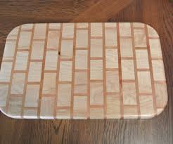how to make a brick pattern cutting board 23 steps with pictures