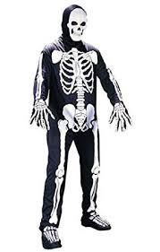 skeleton costumes world unisex adults skeleton costume multi