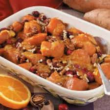 winning cranberry sweet potato bake recipe taste of home