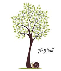 large tree wall decal for nursery baby boys