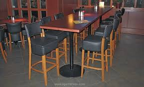 stand up bar table stand up height table base with round cast iron bottom