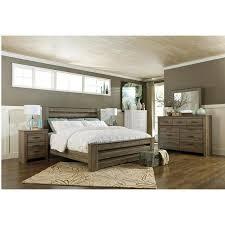 Zelen Piece King Bedroom Set In Warm Gray Nebraska Furniture - Awesome 5 piece bedroom set house