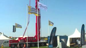 spierings mobile tower crane sk1265 at6 youtube