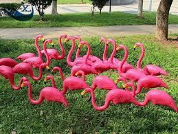 popular pink flamingo lawn ornaments buy cheap pink flamingo lawn