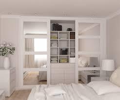Sliding Glass Mirrored Closet Doors Bedrooms Replacement Wardrobe Doors Wood Sliding Closet Doors