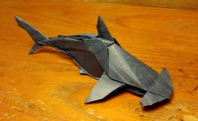 magnificent origami sharks to celebrate shark awareness day