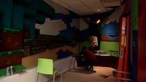 graffiti minecraft game room youtube