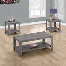 Gray Wood Coffee Table Monarch Coffee Table Tables Ebay
