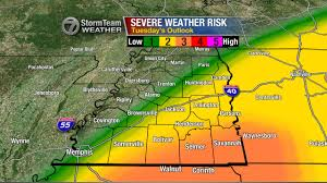 Tennessee Weather Map by Severe Weather Possible Tonight In West Tennessee Wbbj Tv