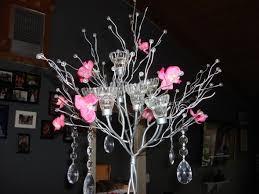 Tree Centerpiece My Diy Crystal Tree Centerpiece Close Up Weddingbee Photo Gallery