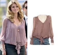 style blouse heidi klum style elizabeth and alexandra blouse