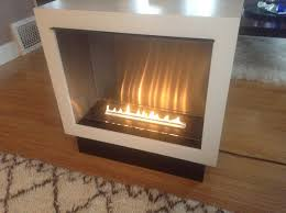 free standing ethanol fireplace portable vent free fireplace