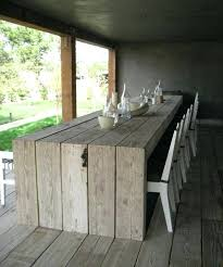 Concrete Patio Tables And Benches Cement Garden Table And Benches Diy Outdoor Bench From Concrete