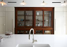 vintage glass front kitchen cabinets glass front cabinet photos design ideas remodel and