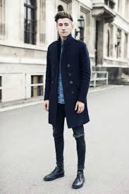 mens black biker style boots how to wear boots the idle man