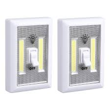 cob led wireless night light with switch torchstar portable night light battery operated 2 cob led panels