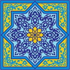 classic antique islamic vector ornament stock vector colourbox
